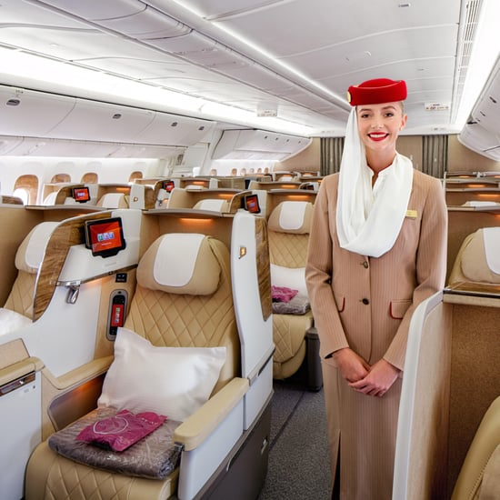 Emirates New Business Class Boeing 777