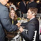 Emily Blunt and James Marsden were all smiles at the Timeless Portofino event at Art Basel in Miami on Wednesday.