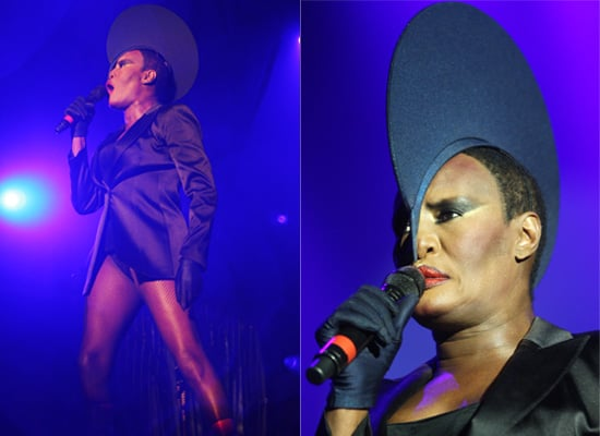 Photos of Grace Jones at Latitude Festival 2009