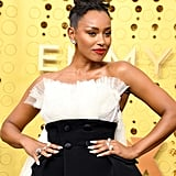Melanie Liburd at the 2019 Emmys