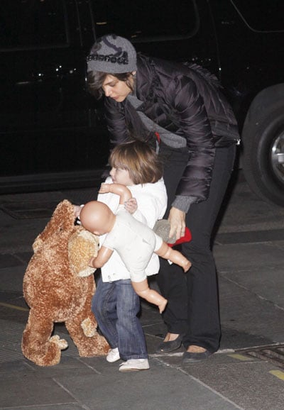 Three's Not A Crowd For Suri