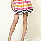 This skirt is the perfect piece for a girlie-yet-sophisticated office look.  Pim + Larkin Striped Tie Skirt ($44)