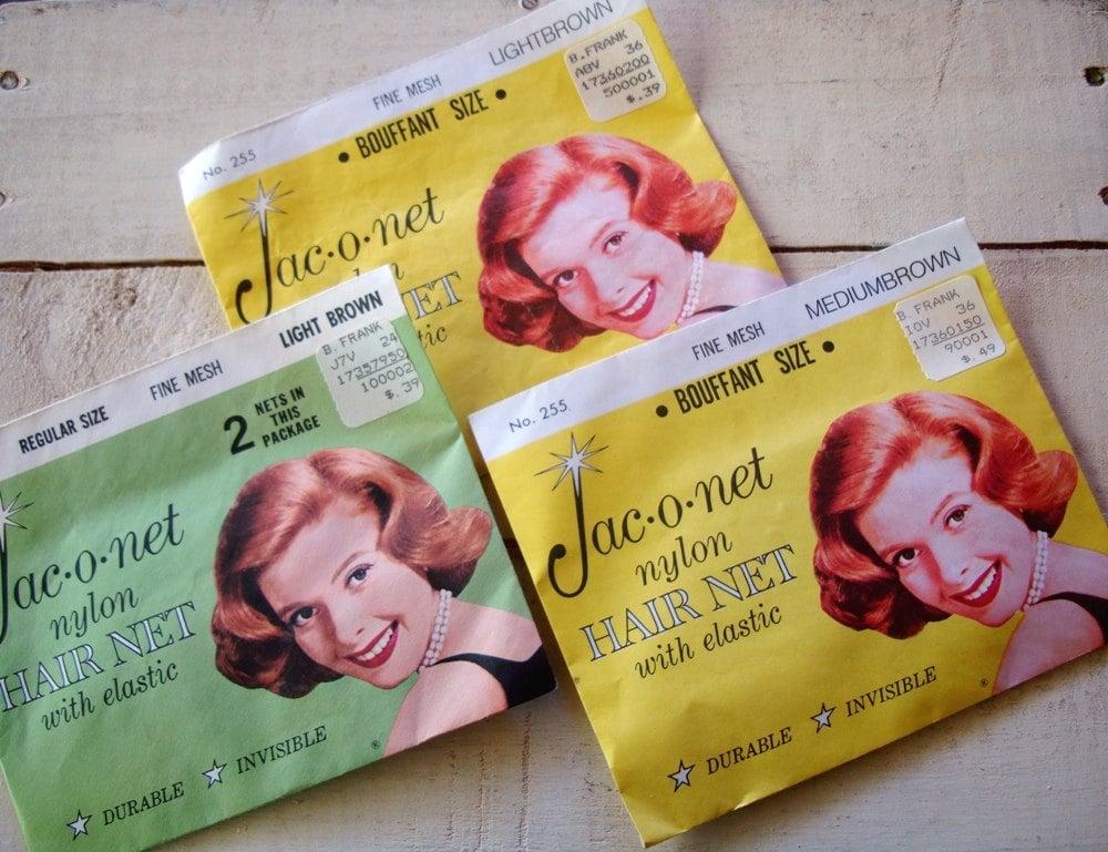 1960s Hairnets