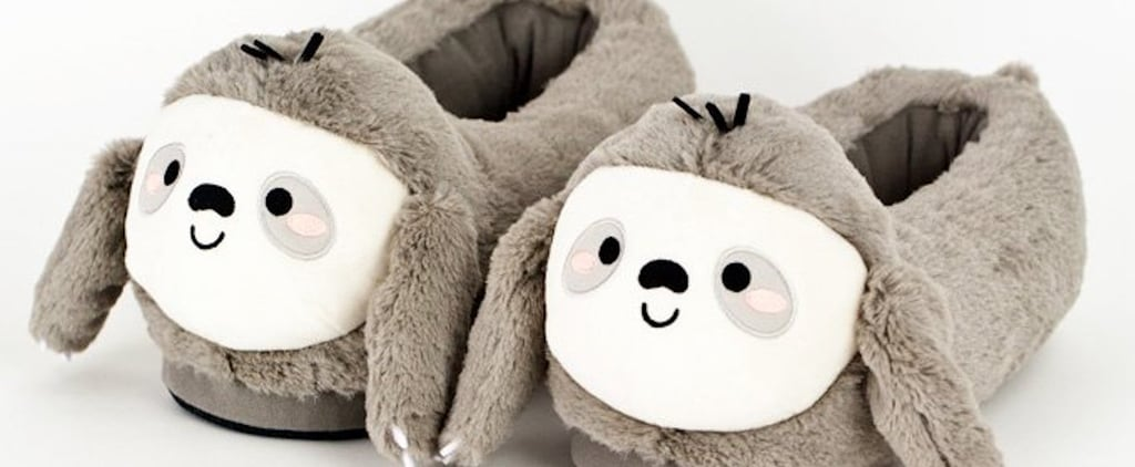 Heated Sloth Slippers