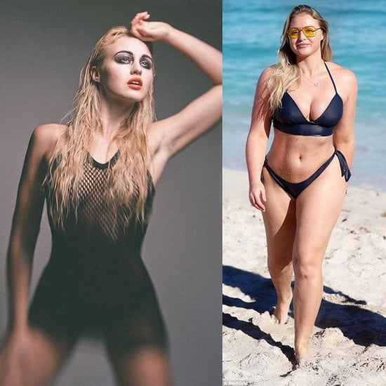 Iskra Lawrence Before and After Healthy Weight Gain