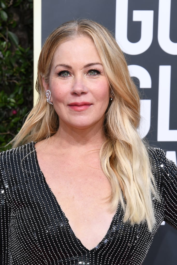 Christina Applegate at the 2020 Golden Globes