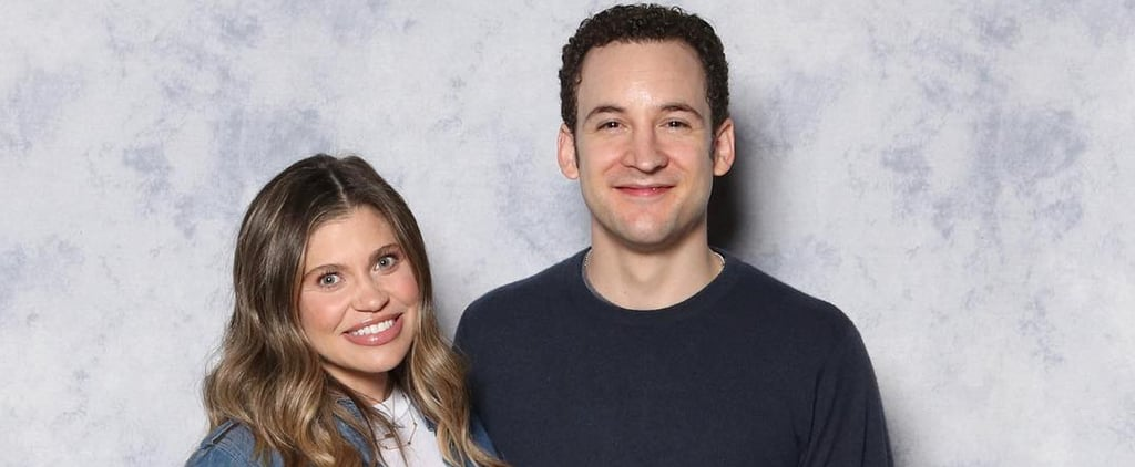 Ben Savage With Danielle Fishel's Son Photo August 2019