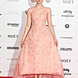 Elle Fanning wowed in pink at the BIFAs.