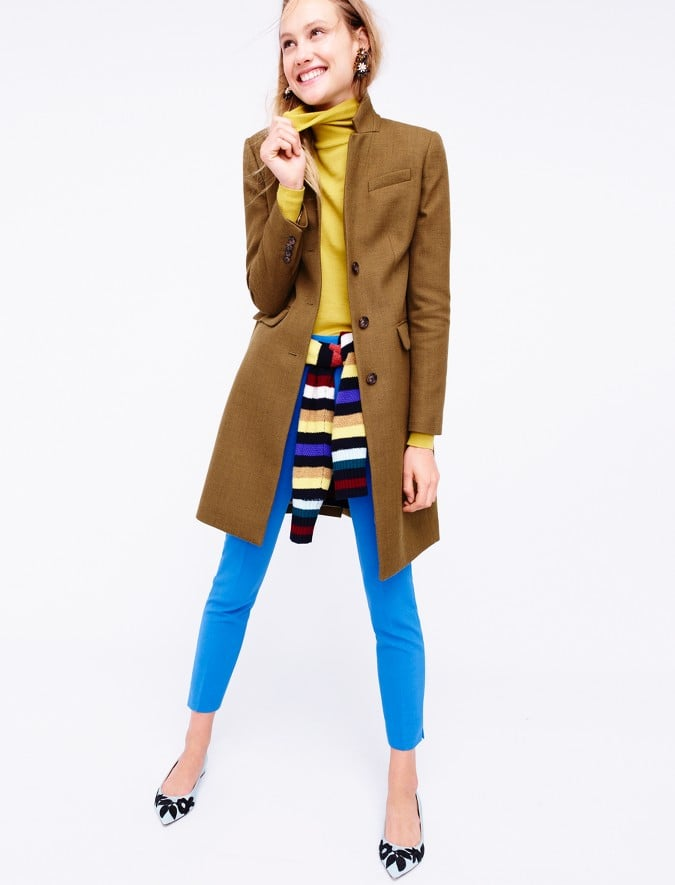 Highlight 1 Particular Shade in Your Striped Top With a Complementing Turtleneck