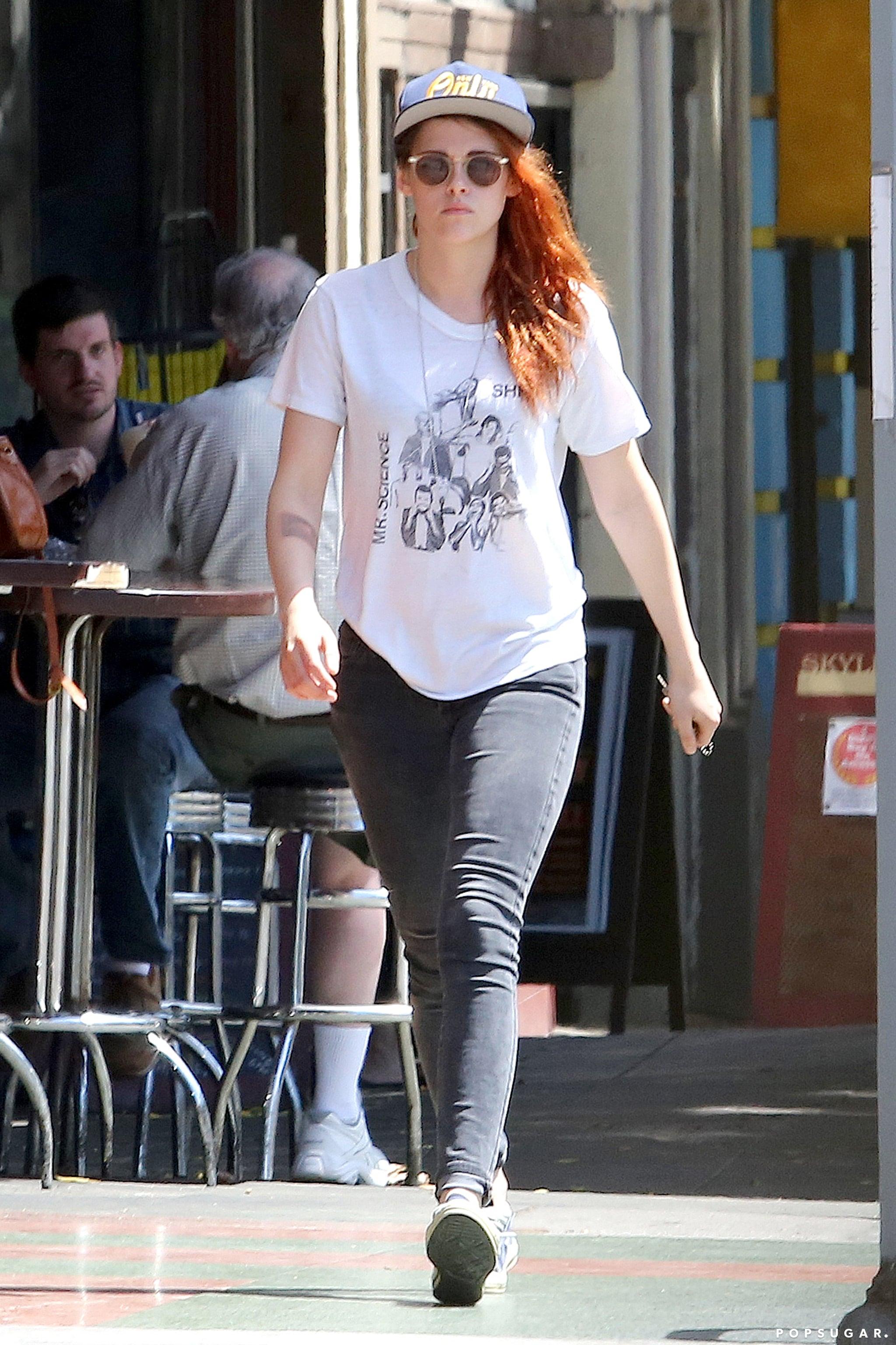 Kristen Stewart Is Back to Her Old Routine in LA