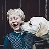 Cute Photos of Kids and Dogs