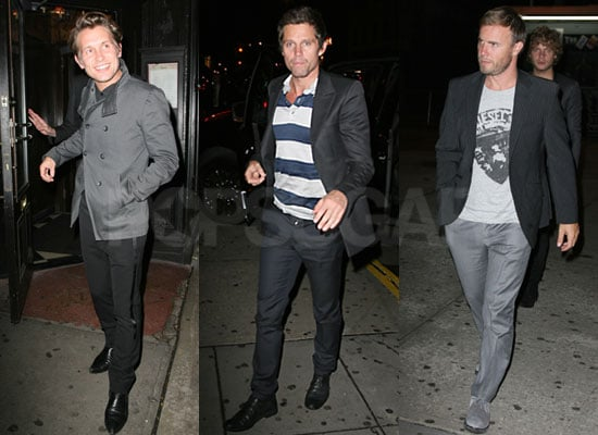 Photos of Take That in New York