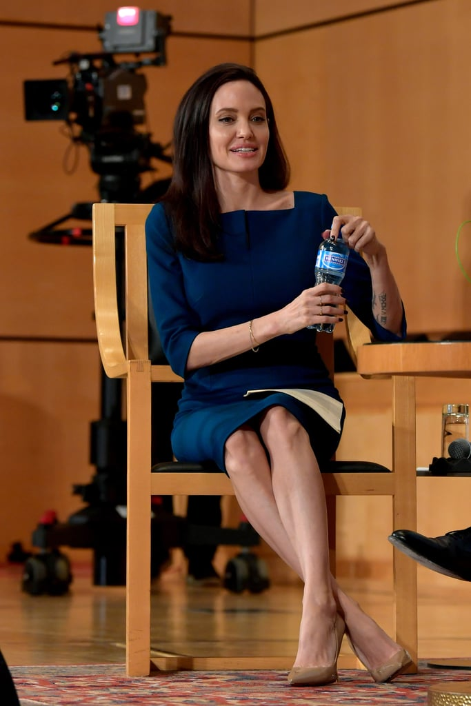 Angelina Was a Guest Speaker at the United Nations Office in Geneva