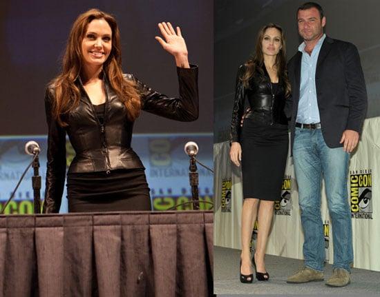 Angelina Jolie at Comic Con