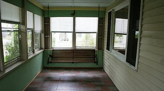 Before and After: Updating a Sun Porch