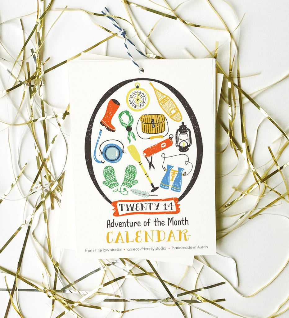 LittleLow Adventure-of-the-Month Calendar
