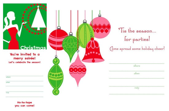Download Our Free Holiday Invites!