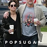 Sandra Bullock and Bryan Randall