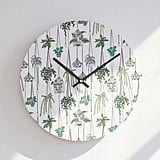 Anyuka For Deny Hanging Plants Wall Clock