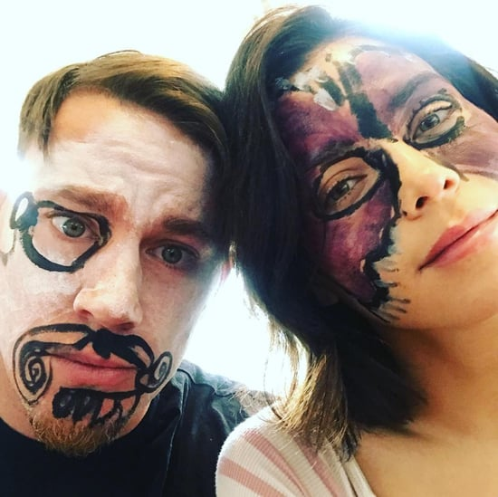 Channing Tatum Shares Daughter's Face Paint