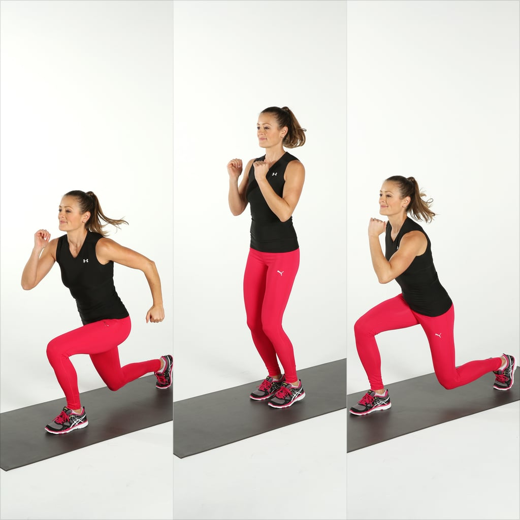 Plyometrics: Jumping Lunge