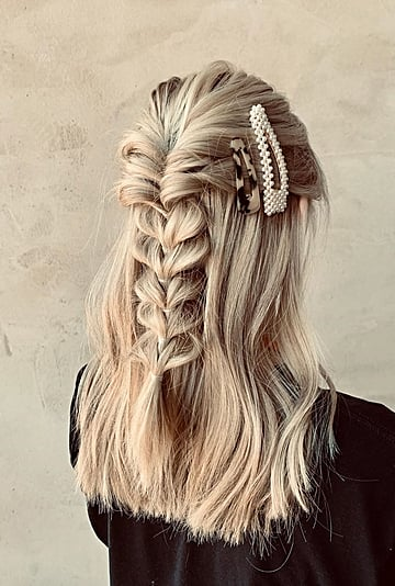 Bubble Braid Hairstyle Tutorials