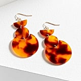 Geo Resin Drop Earrings