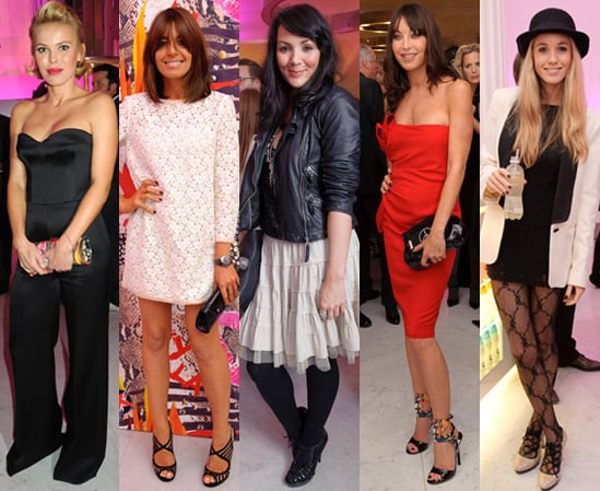 Celebrities at the Jimmy Choo PEP Launch