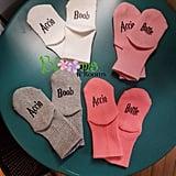 Accio Boob and Accio Bottle Baby Socks