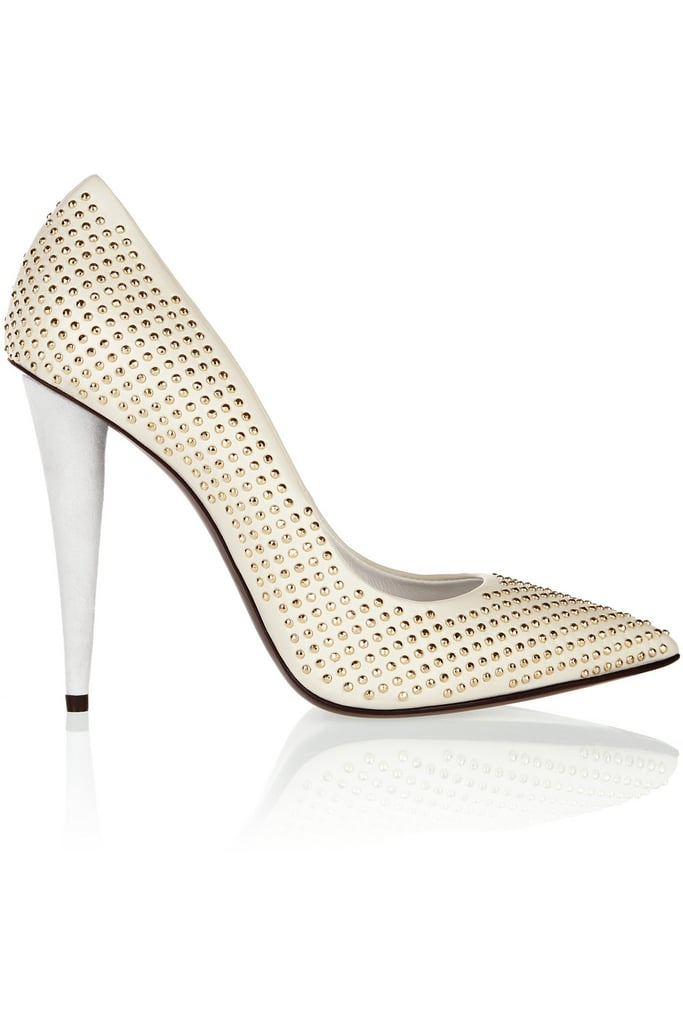 Giuseppe Zanotti Ester Studded Leather Pumps ($398, originally $795)