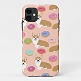 Cute Corgi and Donuts iPhone 11 Case