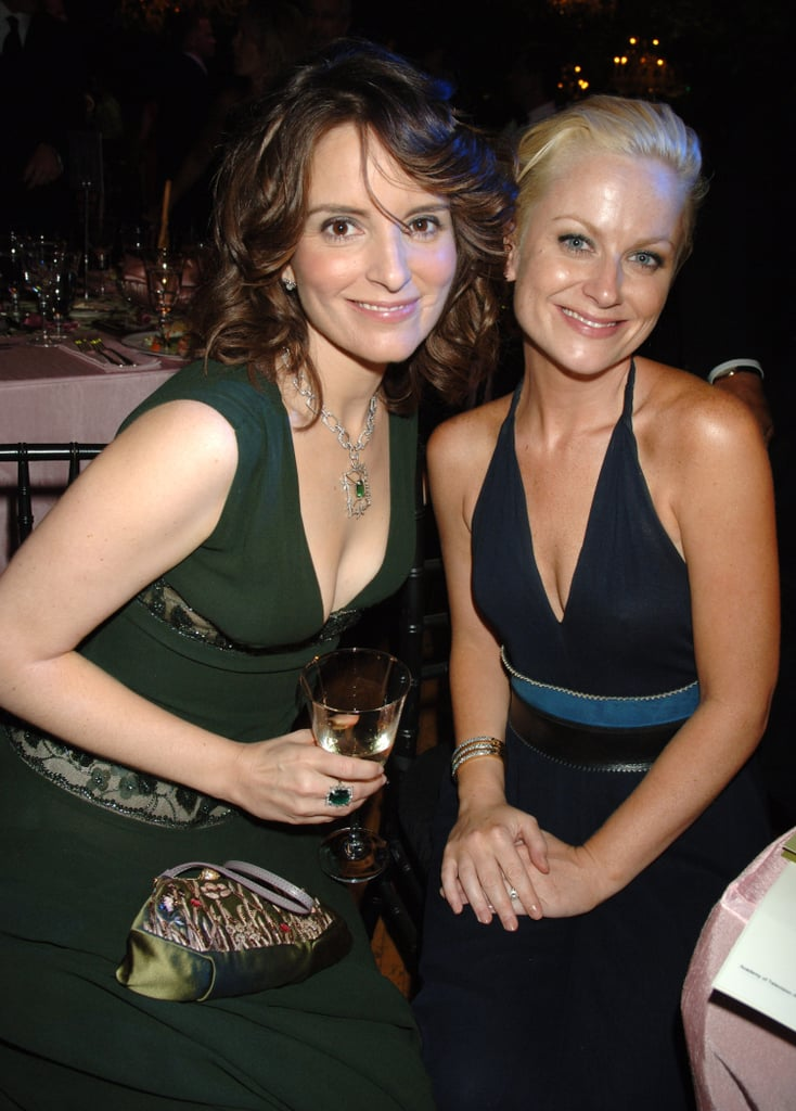 Tina and Amy sat together for the Emmys in 2006.