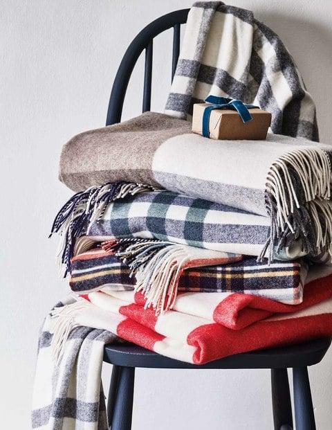 Boden Cosy Highlands Blanket
