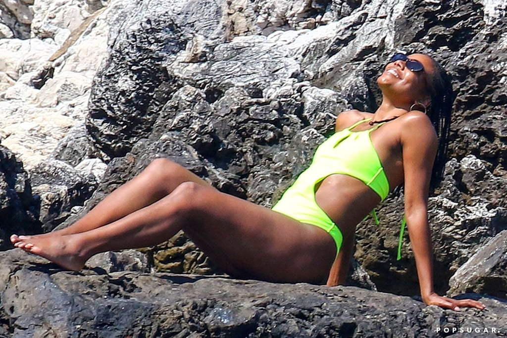 Gabrielle Union is a great actress and all-around fantastic human being, but whenever we lay eyes on her, we have to wonder if she's some kind of vampire or age-resistant witch. The 46-year-old star has a habit of slipping into a bikini and dropping jaws around the globe with her steamy Instagram snaps — which is why we're celebrating Gabrielle's out-of-this-world physique with her best bikini photos.       Related:                                                                                                           Caution: These Sexy Gabrielle Union Photos May Cause Your Heart Rate to Increase Dramatically