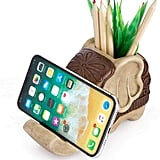 Pen Pencil Holder With Phone Stand