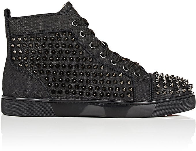 9e97076cc50 The definition of badass, these Christian Louboutin Leather Sneakers ...
