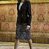 b66fd02e0a ... Queen Letizia Leopard Skirt · Mango Leopard Print Tie Front Mini ...
