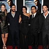 Jake Gyllenhaal premiered his new movie End of Watch alongside co-stars Anna Kendrick, America Ferrera and Cody Horn on September 18.