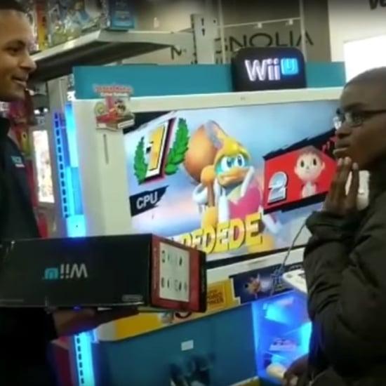 Best Buy Employees Surprise Boy With Wii U