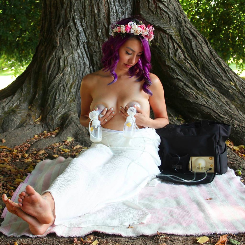Woman Celebrates Other Moms With Breastfeeding Photo Shoot