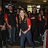 Ashley Greene, Peter Facinelli, and Kellan Lutz Bowling 2018