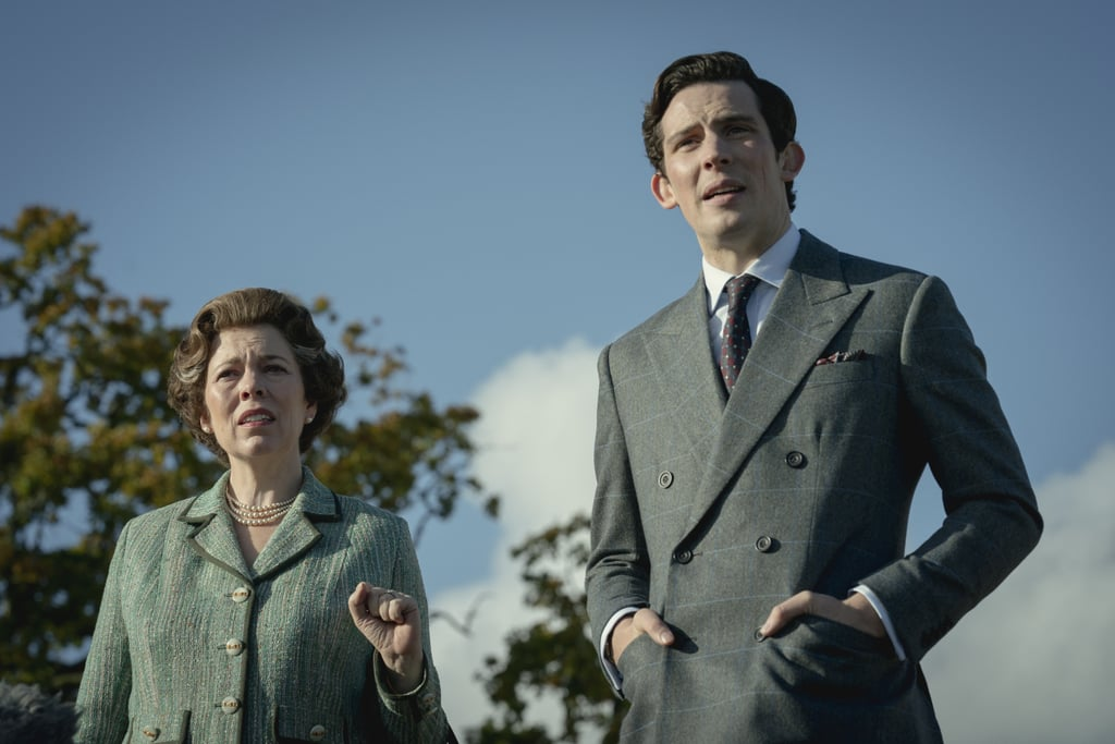 Olivia Colman as Queen Elizabeth II and Josh O'Connor as Prince Charles