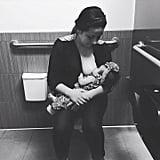 When 1 Mom Was Forced to Breastfeed Her Baby in a Marshalls Bathroom Stall
