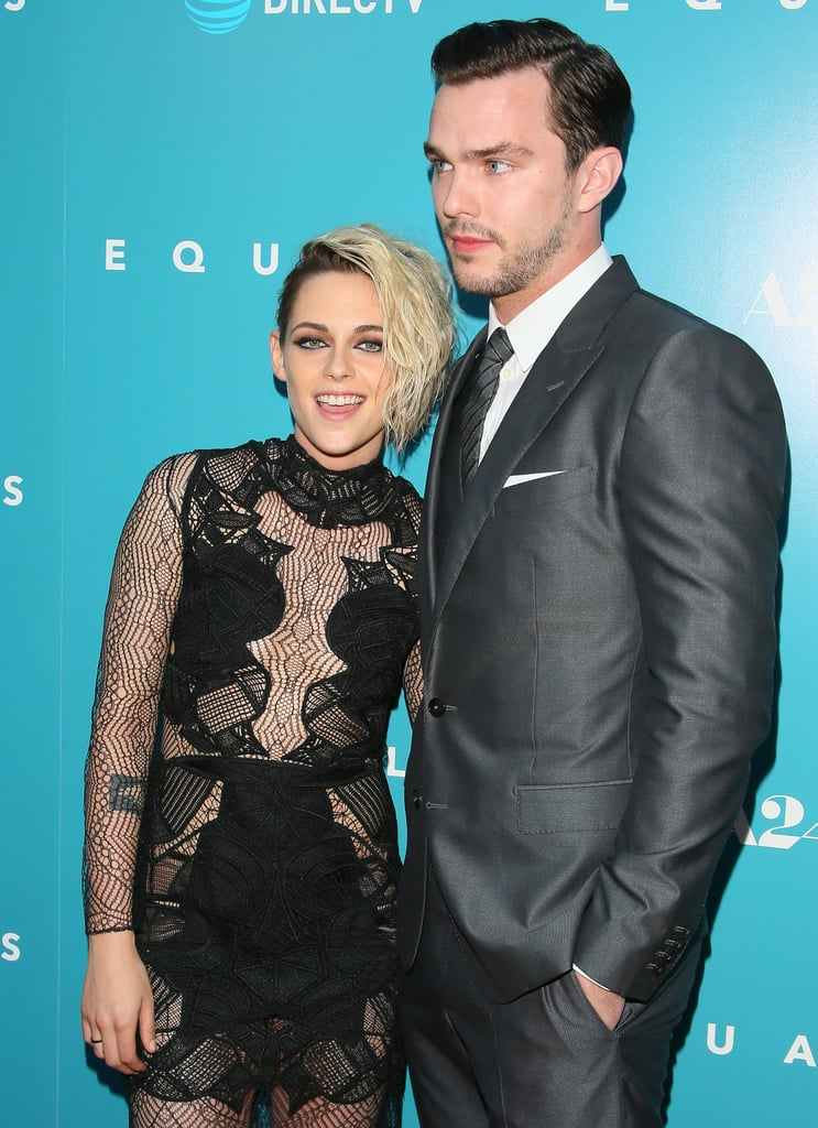 Kristen Stewart and Nicholas Hoult at LA Equals Premiere ...
