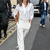 Coordinate Varying Shades of White With Tailored Separates