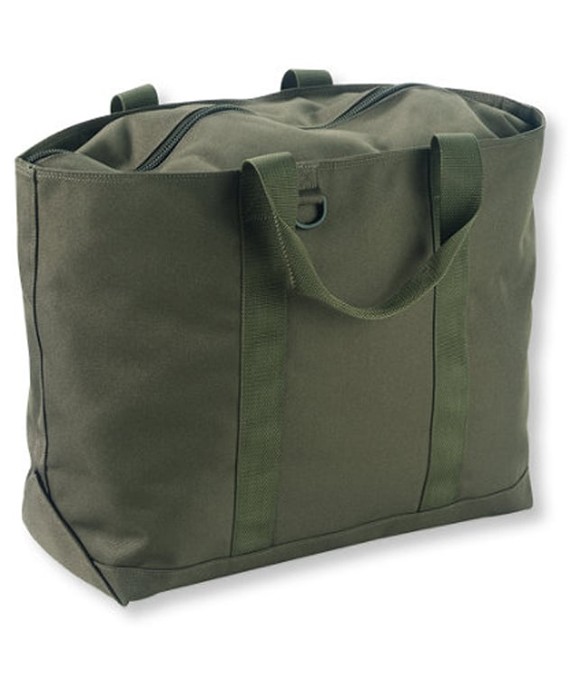 L.L.Bean Hunter's Tote Bag, Zip-Top ($29)