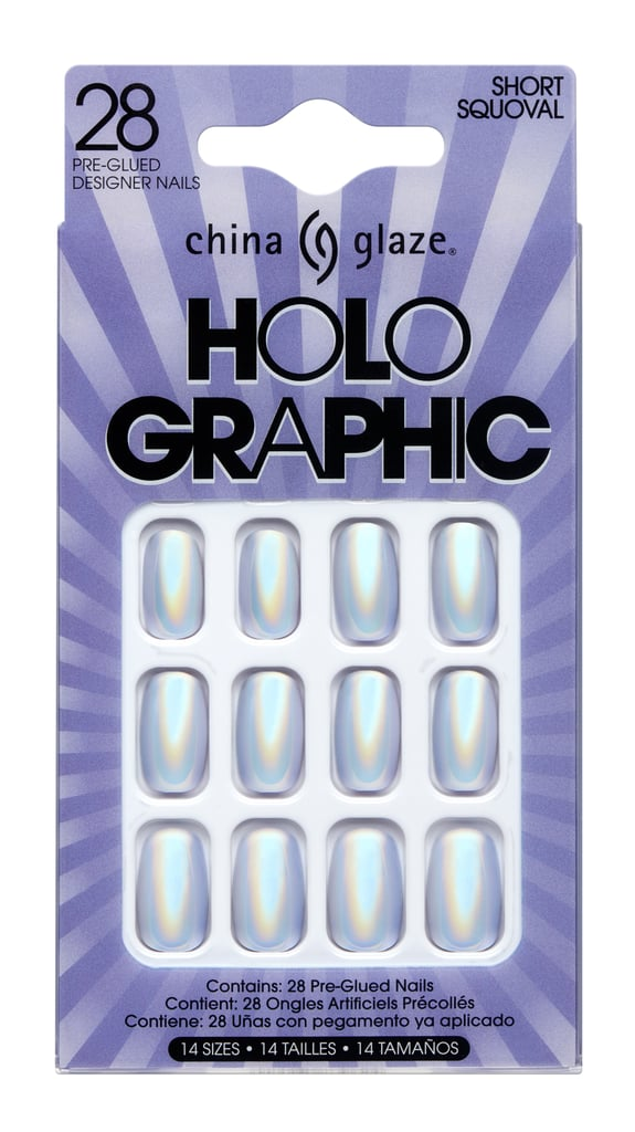 China Glaze Holo Graphic Pre-Glued Nails