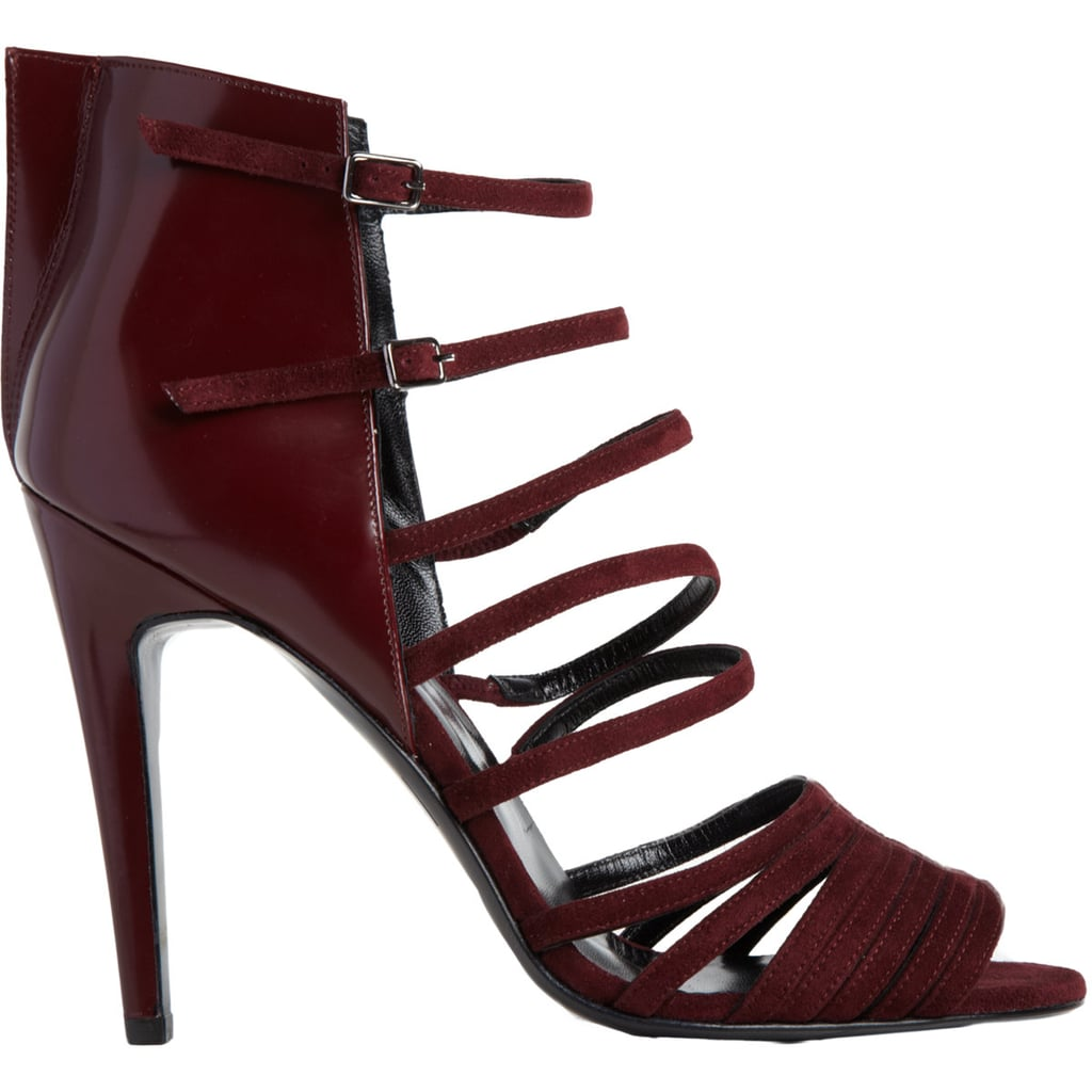 Between the dark red hue and sexy straps, Pierre Hardy's sandals ($369, originally $915) will stop anyone dead in their tracks.