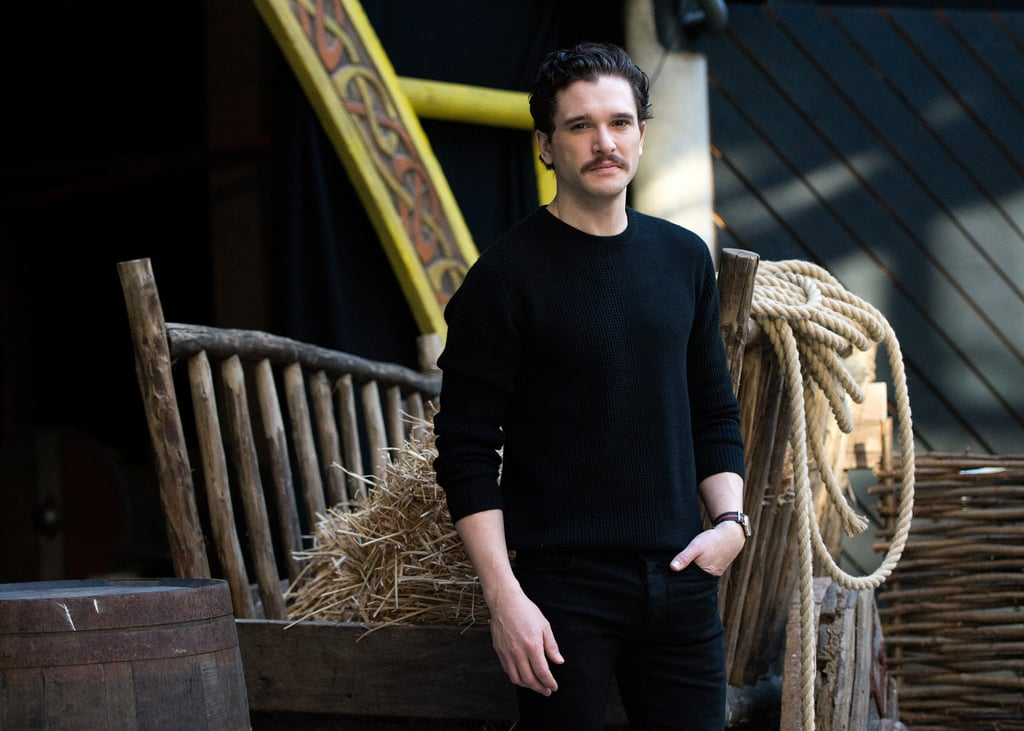 Kit Harington Haircut and Mustache 2019 Pictures  47a8c6f34