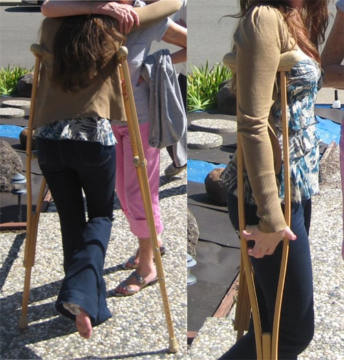 The Easter Crutches Blues